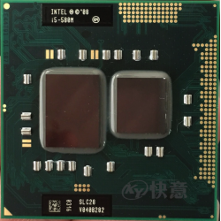 Processeur Intel Core i5-580M 2.6Ghz / 3,33Ghz ( SLC28 )