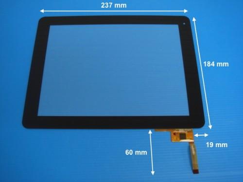 Vitre tactile pour tablette ARCHOS 97 Cobalt