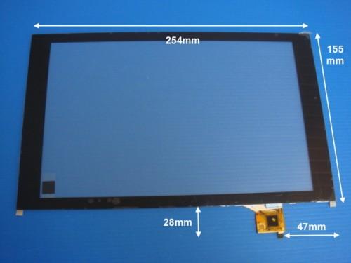 Vitre tactile * NEUVE * noire pour tablette 10 pouces Touch Tablet 10 Fluo CT1030
