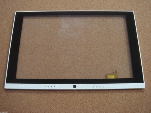 Vitre tactile pour tablette CARREFOUR CT1030 blanche - 19222