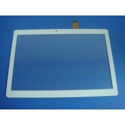 """Vitre tactile blanche 10"""" pouces MF-872-101F FPC - 21717"""