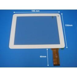 """Vitre tactile blanche pour tablette 8"""" pouces ZP9189-8 - 19770"""